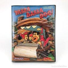 Videojuegos y Consolas: LOS PICAPIEDRA. YABBA DABBA DOO POWER SOFTWARE ESPAÑA 1985 FLINTSTONES C64 COMMODORE 64 128 CASSETTE. Lote 236859665