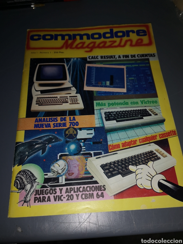 T2. R7. REVISTA COMMODORE MAGAZINE (Juguetes - Videojuegos y Consolas - Commodore)