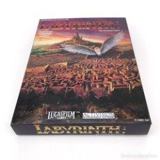 Videojuegos y Consolas: LABYRINTH CAJA REPRO GRANDE CALIDAD MAXIMA JUEGO DAVID BOWIE LUCASFILM C64 COMMODORE 64 128 CASSETTE. Lote 238068035