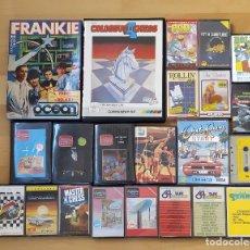Videojuegos y Consolas: LOTE JUEGOS ORDENADOR COMMODORE 64 OUT RUN FRANKIE CHESS BALONCESTO HOLE IN WE 128 C64 C128 C16. Lote 242057915