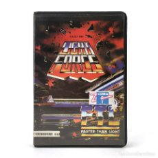Videojuegos y Consolas: LIGHT FORCE ESTUCHE Z COBRA ESPAÑA FASTER THAN LIGHT ASTEROID 1986 CBM COMMODORE 64 128 C64 CASSETTE. Lote 243765010