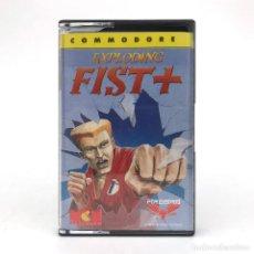 Videojuegos y Consolas: EXPLODING FIST +3 MCM SOFTWARE FIREBIRD ESPAÑA 1988 JUEGO KUNG FU CBM COMMODORE 64 128 C64 CASSETTE. Lote 243867500