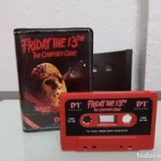 Videojuegos y Consolas: FRIDAY THE 13TH VIDEOJUEGO COMMODORE. Lote 243991860