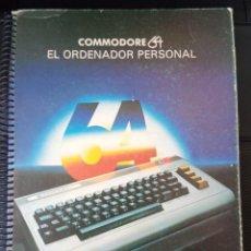 Videojuegos y Consolas: COMMODORE 64 LIBRO CURSO DE INTRODUCCIÓN AL BASIC PARTE I - POR ANDREW COLIN - 1981. Lote 244943085