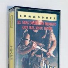 Videojuegos y Consolas: HKM - HUMAN KILLING MACHINE - [US GOLD] 1989 - ERBE SOFTWARE [COMMODORE 64 C64]. Lote 245440685