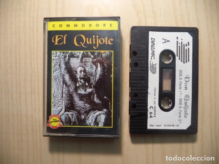 JUEGO 'DON QUIJOTE DE LA MANCHA' COMMODORE (Juguetes - Videojuegos y Consolas - Commodore)
