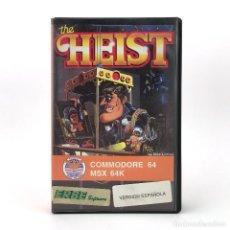 Videojuegos y Consolas: THE HEIST ESTUCHE ERBE MIKE LIVESAY EAGLESOFT JUEGO PARA CBM COMMODORE 64 128 C64 CASSETTE Y MSX +++. Lote 249163130