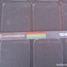 Videojuegos y Consolas: COMMODORE 1541 PLACA PEGATINA DESPEGADA. Lote 249228035