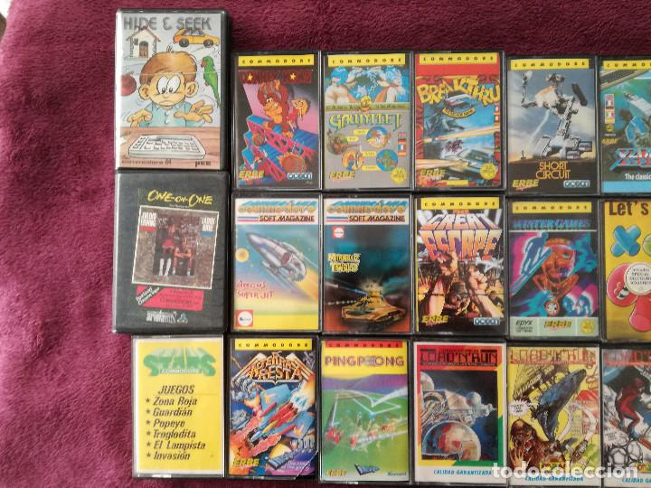 Videojuegos y Consolas: LOTE 24 JUEGOS COMMODORE - Foto 2 - 251502775
