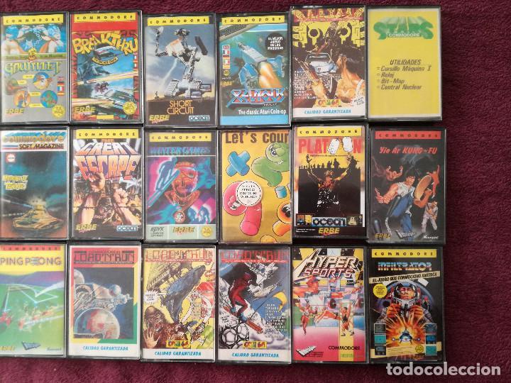 Videojuegos y Consolas: LOTE 24 JUEGOS COMMODORE - Foto 3 - 251502775