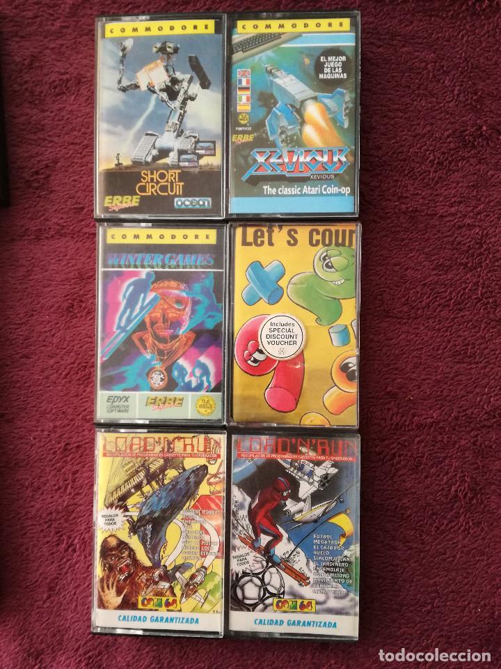 Videojuegos y Consolas: LOTE 24 JUEGOS COMMODORE - Foto 5 - 251502775