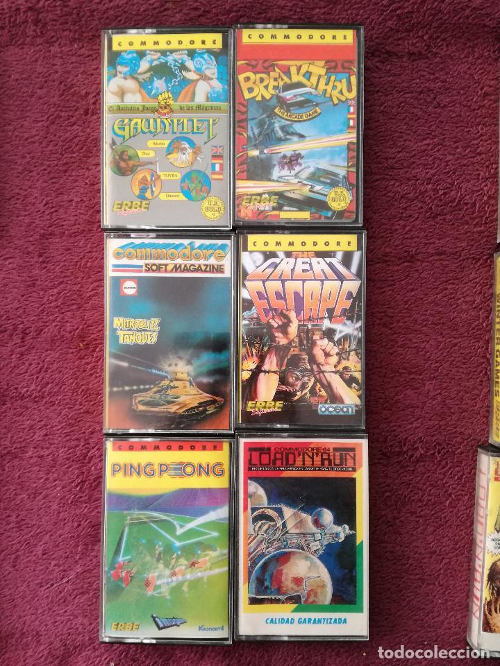 Videojuegos y Consolas: LOTE 24 JUEGOS COMMODORE - Foto 6 - 251502775