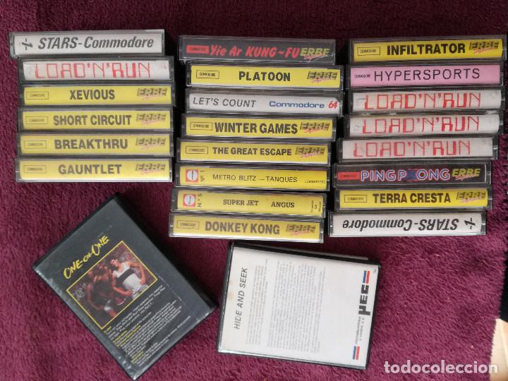 Videojuegos y Consolas: LOTE 24 JUEGOS COMMODORE - Foto 8 - 251502775