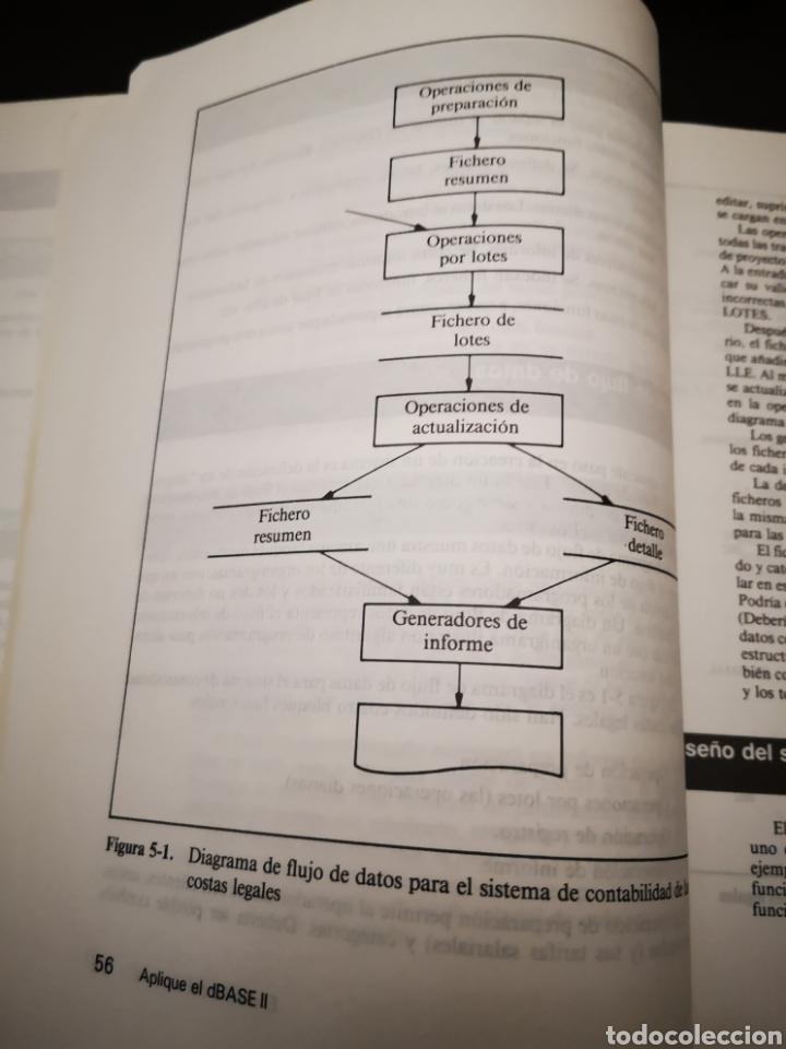 Videojuegos y Consolas: LIBRO/ APLIQUE EL DBASE II.. COMMODORE/AMSTRAD/SPECTRUM. - Foto 3 - 252394355