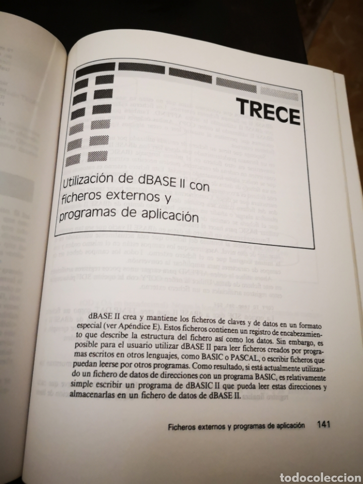 Videojuegos y Consolas: LIBRO/ APLIQUE EL DBASE II.. COMMODORE/AMSTRAD/SPECTRUM. - Foto 4 - 252394355
