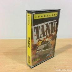 Videojuegos y Consolas: JUEGO VINTAGE PARA CBM COMMODORE 64 C64 - TANK. OCEAN / ERBE SOFTWARE, 1987. Lote 252413160