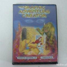 Videojuegos y Consolas: THE GRAPHIC ADVENTURE CREATOR / COMMODORE 64 - C64 / RETRO VINTAGE / CASSETTE - CINTA. Lote 253708065