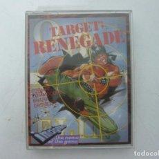 Videojuegos y Consolas: TARGET RENEGADE / COMMODORE 64 - C64 / RETRO VINTAGE / CASSETTE - CINTA. Lote 253708915
