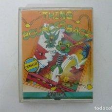 Videojuegos y Consolas: THING BOUNCES BACK / COMMODORE 64 - C64 / RETRO VINTAGE / CASSETTE - CINTA. Lote 253709130