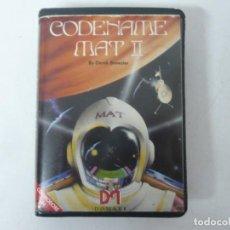 Videojuegos y Consolas: CODENAME MAT II / COMMODORE 64 - C64 / RETRO VINTAGE / CASSETTE - CINTA. Lote 253819550