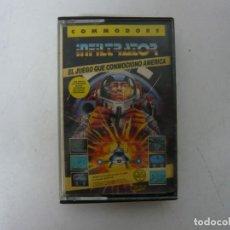 Videojuegos y Consolas: INFILTRATOR / COMMODORE 64 - C64 / RETRO VINTAGE / CASSETTE - CINTA. Lote 253820155