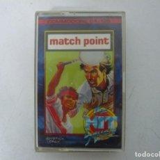 Videojuegos y Consolas: MATCH POINT / COMMODORE 64 - C64 / RETRO VINTAGE / CASSETTE - CINTA. Lote 253820455