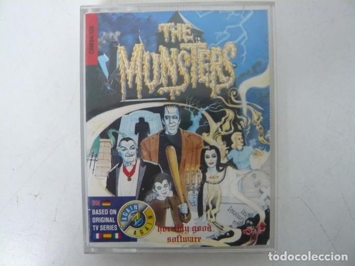 THE MUNSTERS / COMMODORE 64 - C64 / RETRO VINTAGE / CASSETTE - CINTA (Juguetes - Videojuegos y Consolas - Commodore)
