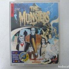 Videojuegos y Consolas: THE MUNSTERS / COMMODORE 64 - C64 / RETRO VINTAGE / CASSETTE - CINTA. Lote 253820615