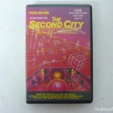 Videojuegos y Consolas: THE SECOND CITY / COMMODORE 64 - C64 / RETRO VINTAGE / CASSETTE - CINTA. Lote 253821225