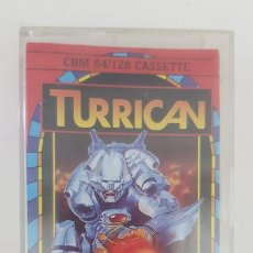 Videojuegos y Consolas: TURRICAN - COMMODORE 64. Lote 255329990