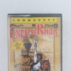 Videojuegos y Consolas: EXPRESS RAIDER - COMMODORE 64. Lote 255330990