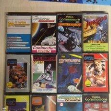 Videojuegos y Consolas: LOTE DE 12 CINTAS CASSETTE JUEGOS Y SOFTWARE COMMODORE. Lote 257437025