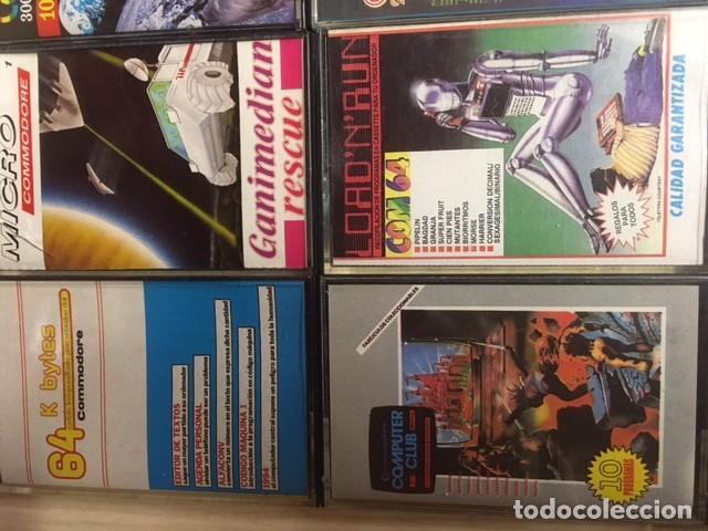 Videojuegos y Consolas: Lote de 12 cintas cassette juegos y software COMMODORE - Foto 2 - 257437025