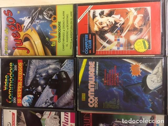 Videojuegos y Consolas: Lote de 12 cintas cassette juegos y software COMMODORE - Foto 3 - 257437025