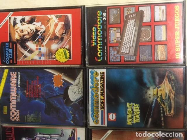 Videojuegos y Consolas: Lote de 12 cintas cassette juegos y software COMMODORE - Foto 5 - 257437025