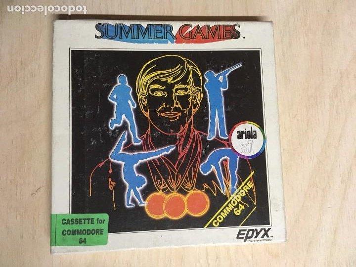 SUMMER GAMES COMMODORE (Juguetes - Videojuegos y Consolas - Commodore)