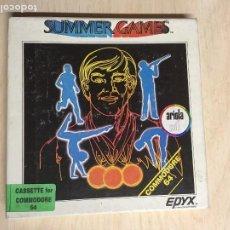 Videojuegos y Consolas: SUMMER GAMES COMMODORE. Lote 257506680