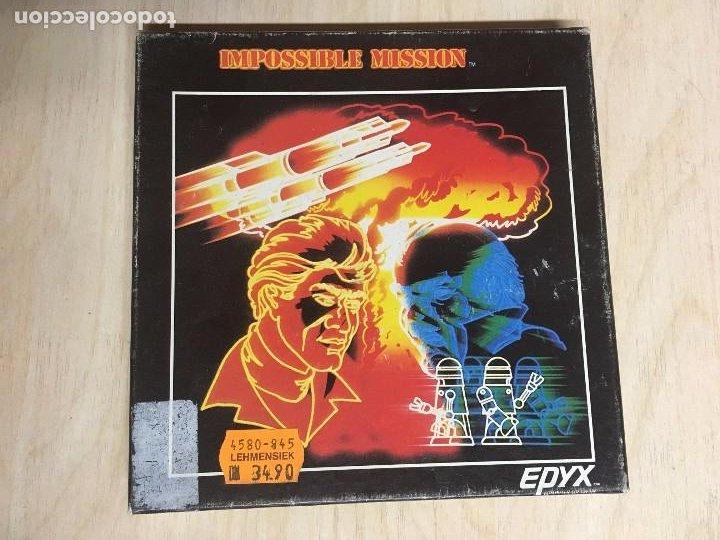 IMPOSSIBLE MISSION COMMODORE (Juguetes - Videojuegos y Consolas - Commodore)