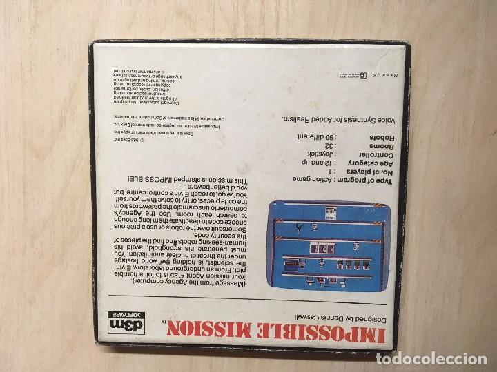 Videojuegos y Consolas: IMPOSSIBLE MISSION COMMODORE - Foto 2 - 257507290
