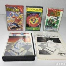 Videojuegos y Consolas: LOTE JUEGOS COMMODORE VARIOS PIPELINE,SPORT OF KINGS,CHESS ,720. Lote 257642950