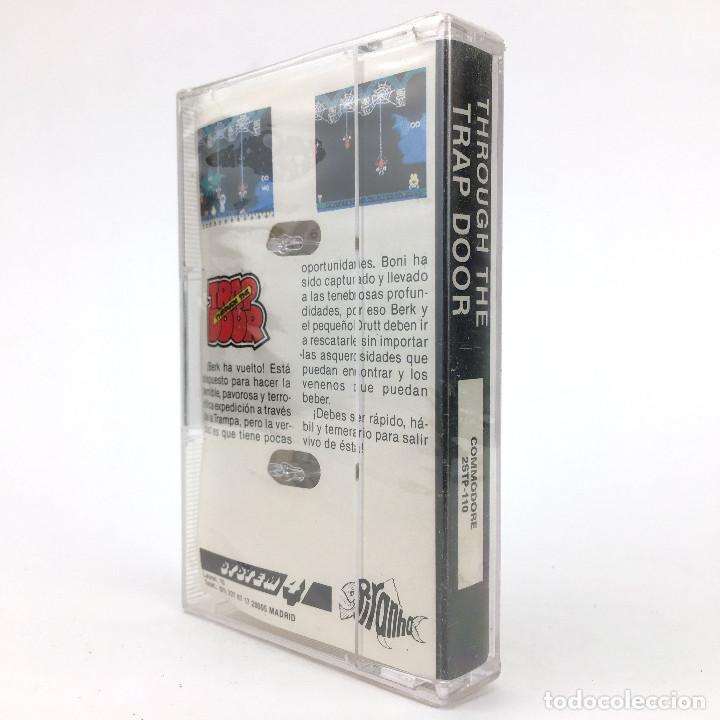 Videojuegos y Consolas: THROUGH THE TRAP DOOR Precintado. SYSTEM 4 / PIRANHA 1987 CASTILLO CBM COMMODORE 64 128 C64 CASSETT - Foto 2 - 257713135