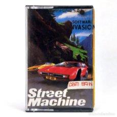 Videojuegos y Consolas: STREET MACHINE / MIND GAMES ESPAÑA / SOFTWARE INVASION 1986 COCHES CBM COMMODORE 64 128 C64 CASSETTE. Lote 257713295