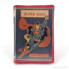Videojuegos y Consolas: SUPERMAN ESTUCHE GARISOFT RI-A SOFT ITALIA RAREZA PIRATA DC COMICS CBM COMMODORE 64 128 C64 CASSETTE. Lote 257713535