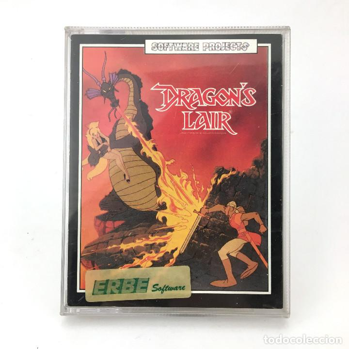 DRAGON´S LAIR / ERBE ESPAÑA / SOFTWARE PROJECTS / MAGICOM MAZMORRA CBM COMMODORE 64 128 C64 CASSETTE (Juguetes - Videojuegos y Consolas - Commodore)