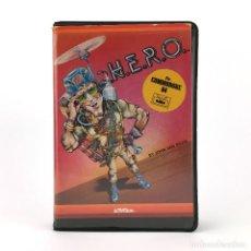 Videogiochi e Consoli: HERO ESTUCHE ACTIVISION 1984 H.E.R.O. BY JOHN VAN RYZIN CBM COMMODORE 64 128 C64 CASSETTE. Lote 259851430
