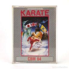 Videogiochi e Consoli: INTERNATIONAL KARATE PRISM LEISURE CORP. 1987 KUNG FU ARTE MARCIAL CBM COMMODORE 64 128 C64 CASSETTE. Lote 259852045