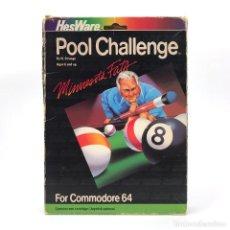 Videojogos e Consolas: MINNESOTA FATS POOL CHALLENGE CARTUCHO BILLAR CARTRIDGE BILLIARD CBM RETRO COMMODORE 64 C64 CASSETTE. Lote 260354310