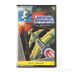 Videojuegos y Consolas: MOON CRESTA. SYSTEM 4 ESPAÑA / INCENTIVE 1988 NAVE CAZA KAMIKAZE RETRO COMMODORE 64 128 C64 CASSETTE. Lote 261951985