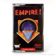 Videojuegos y Consolas: STAR EMPIRE ! DRO SOFT ESPAÑA FIREBIRD ANDREW J. GLAISTER ESPACIAL CBM COMMODORE 64 128 C64 CASSETTE. Lote 261952895