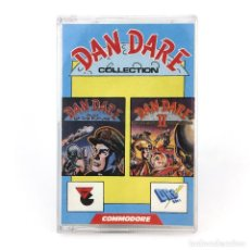 Videojuegos y Consolas: DAN DARE COLLECTION 1 & 2. DRO SOFT ESPAÑA VIRGIN GAMES 1988 MEKON CBM COMMODORE 64 128 C64 CASSETTE. Lote 261953335